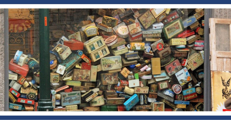 Archiviazione di oggetti e di dati personali