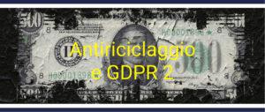 Antiriciclaggio e GDPR 2020