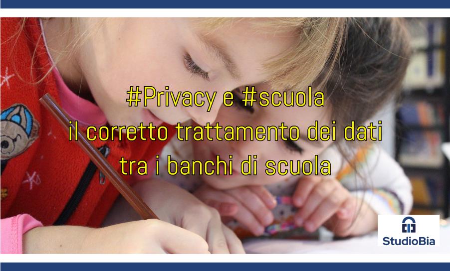 Privacy nelle scuole