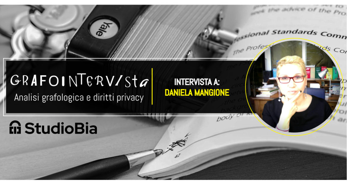 Grafologia e GDPR, Privacy