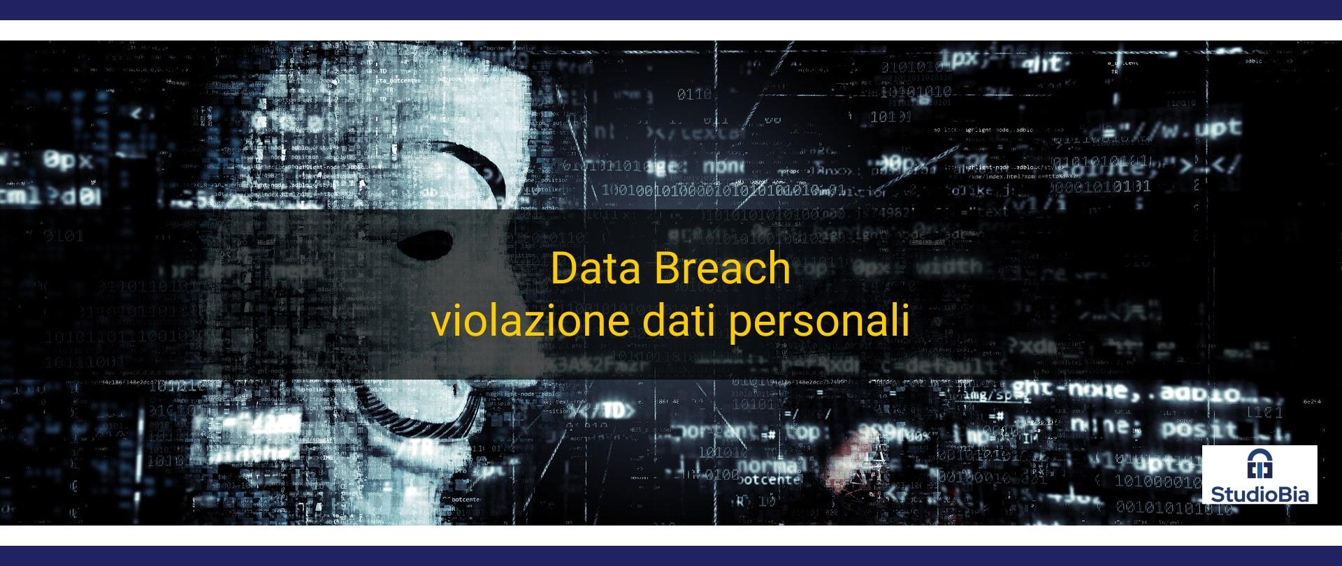 Violazione dei dati personali