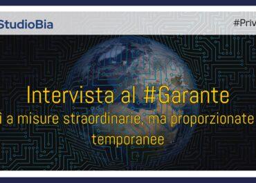 Intervista al Garante Antonello Soro: la sfida privacy in era coronavirus