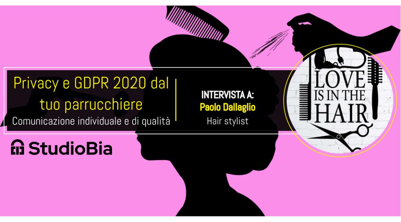 Hair stylist Parma e il trattamento dei dati personali
