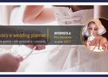 La Privacy nel wedding planner del made in Italy