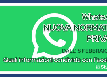 Sicurezza e dati su WhatsApp: cosa cambia dall'8 febbraio 2021