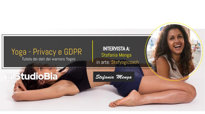 Intervista a Stefania Menga insegnante Yoga
