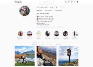 Instagram Stefania Menga