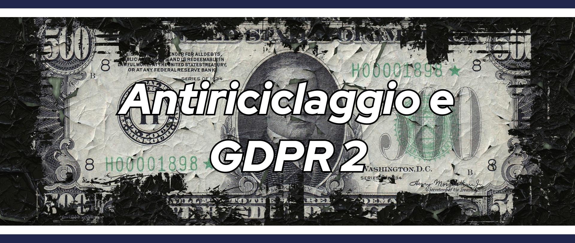 Antiriciclaggio e GDPR 2_StudioBia_Parma
