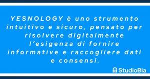 Yesnology e gestione consensi
